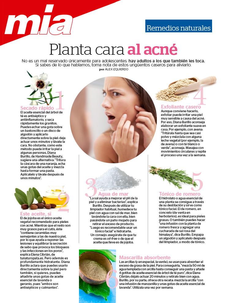 Colaboración Revista Mia, Acné, Elena Cibrián